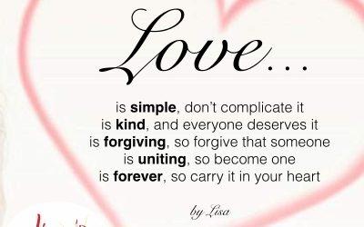 Love 101…