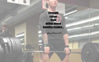 HUMILITY drives strength…