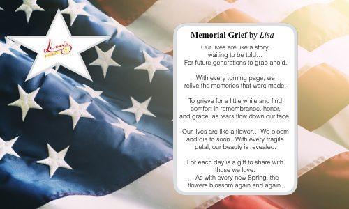 Memorial Grief…