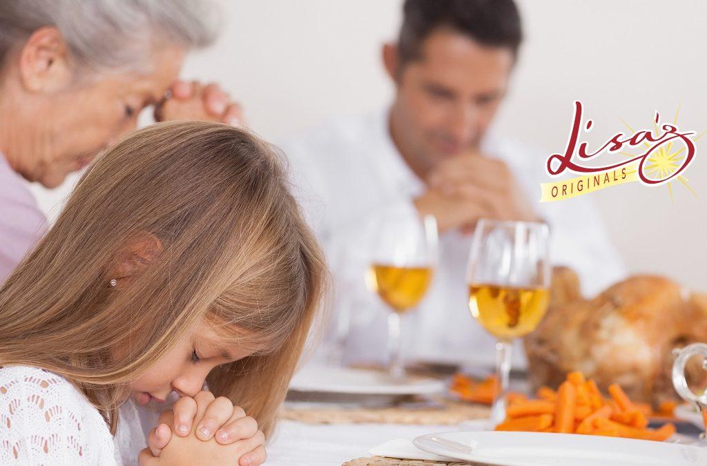 Thanksgiving Prayer…
