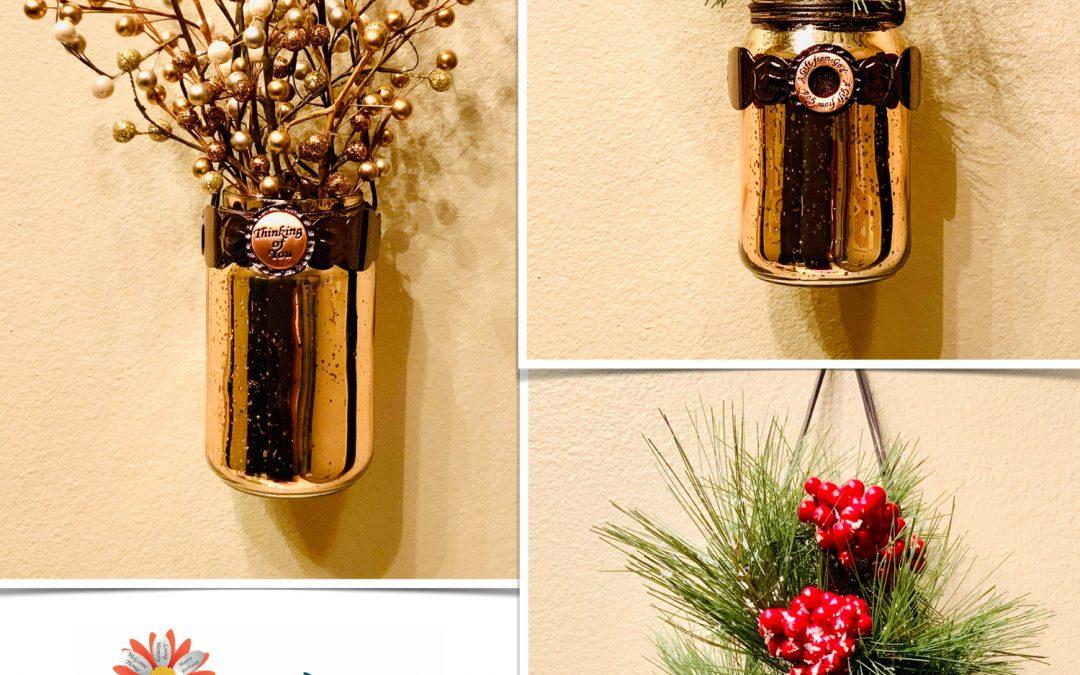 New Vase of Life Holiday Hanging Decor!