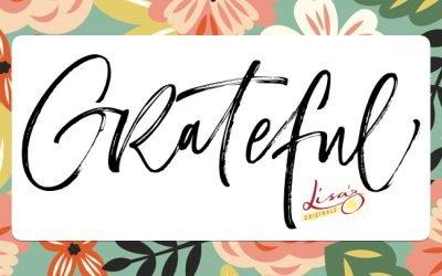 Gratitude fuels a FIRE…